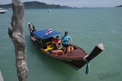 A trip on our longtail boat is part of the experience